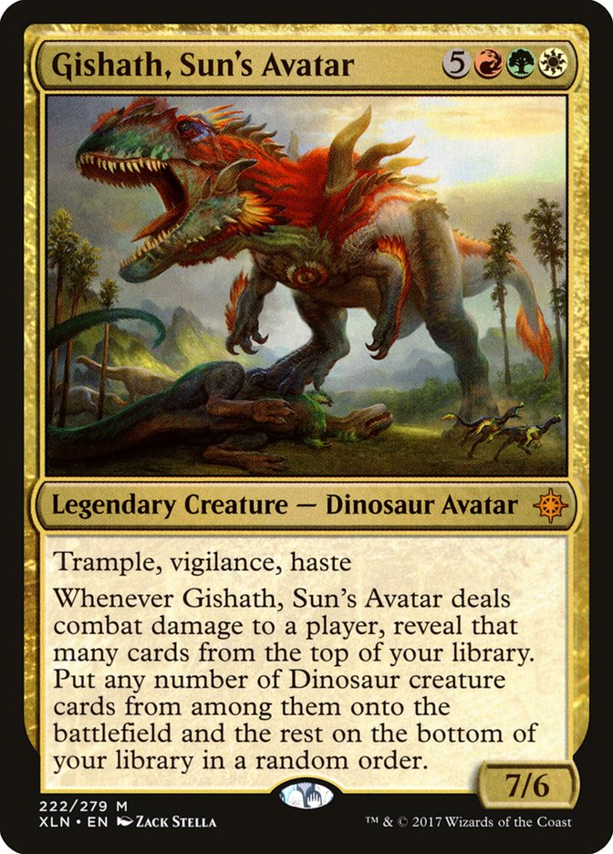 Gishath, Sun's Avatar