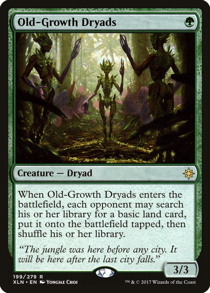 Old-Growth Dryads