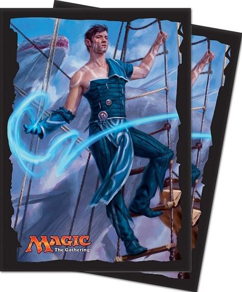 Ultra Pro Magic Matte Sleeves  - Ixalan - Jace, Cunning Castaway