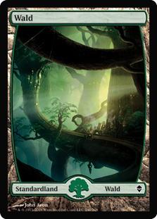 Forest (#246) (Full-Art) (Zendikar)