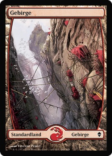 Mountain (#245) (Full-Art) (Zendikar)