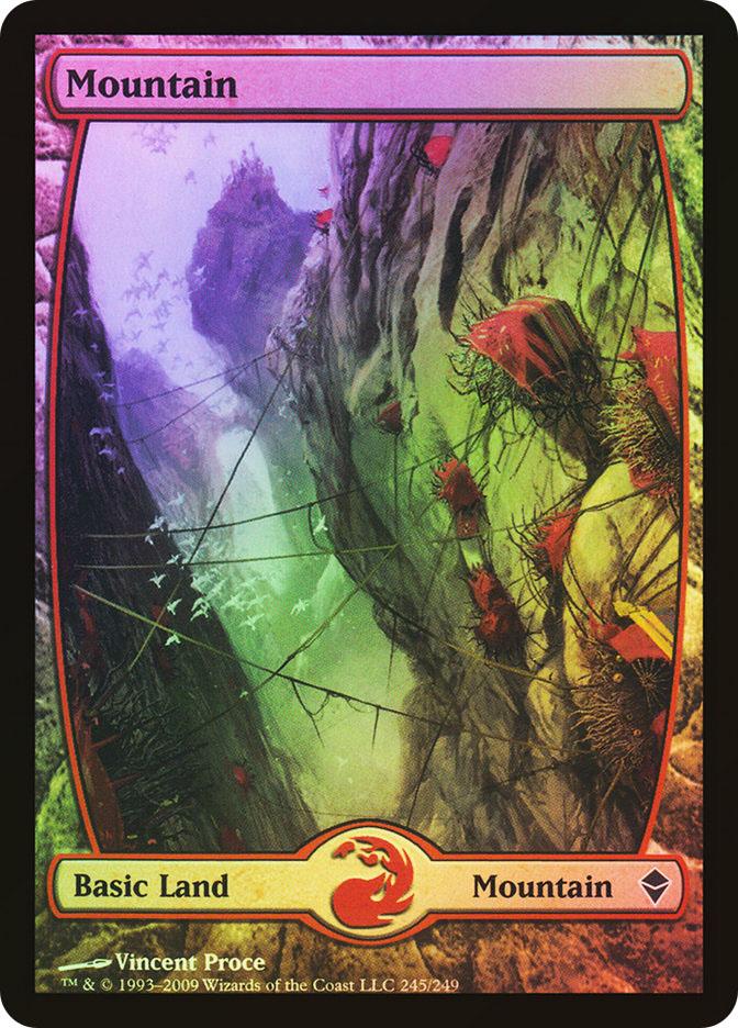 Mountain (#245) (Full-Art)