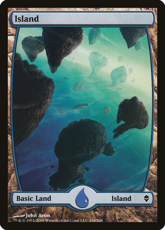 Island (#234) (Full-Art)
