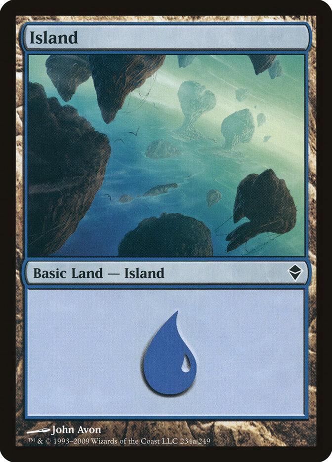 Island (#234a) (Regular Art)