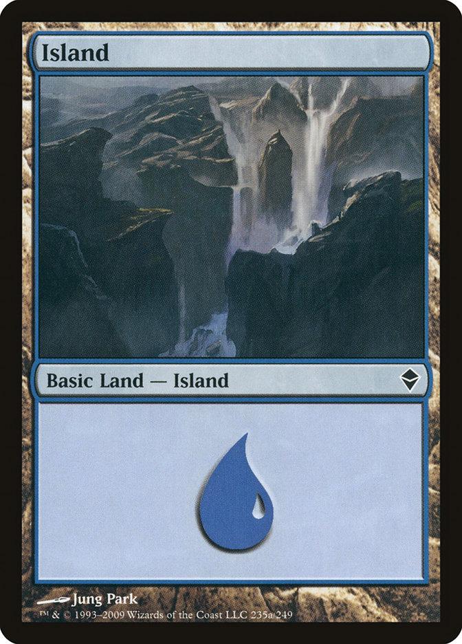 Island (#235a) (Regular Art)