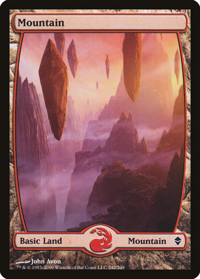 Mountain (#242) (Full-Art)