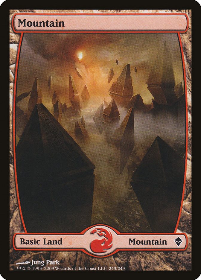 Mountain (#243) (Full-Art)