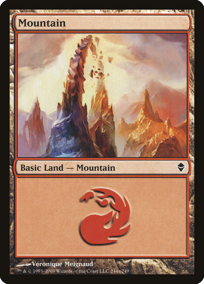 Mountain (#244a) (Regular Art)