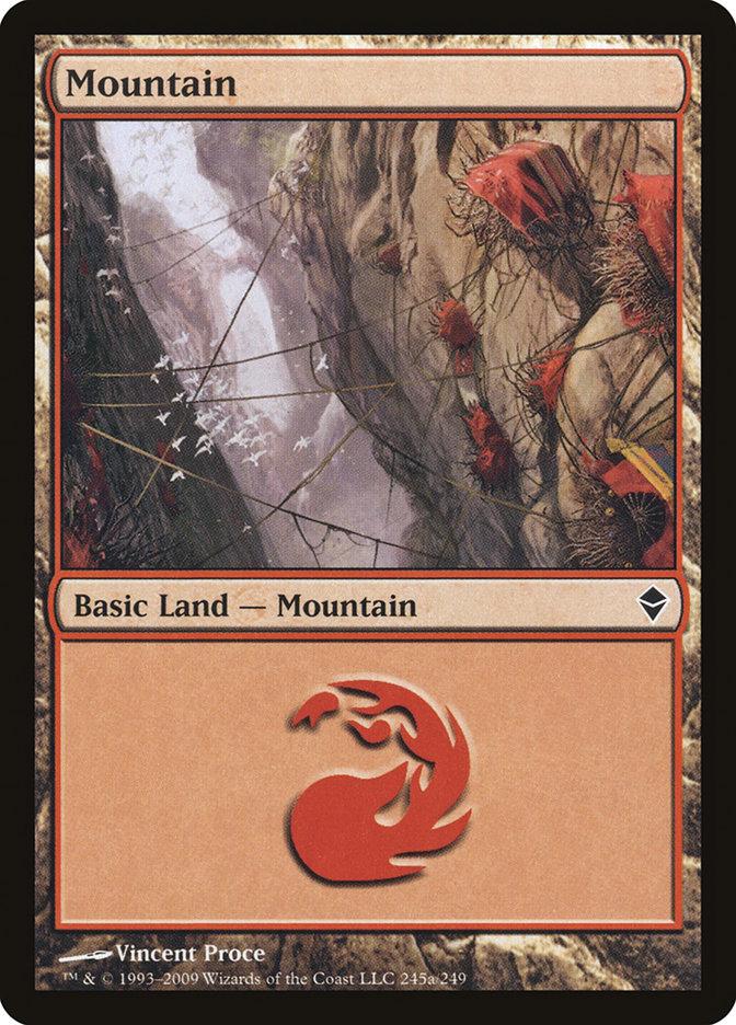 Mountain (#245a) (Regular Art)