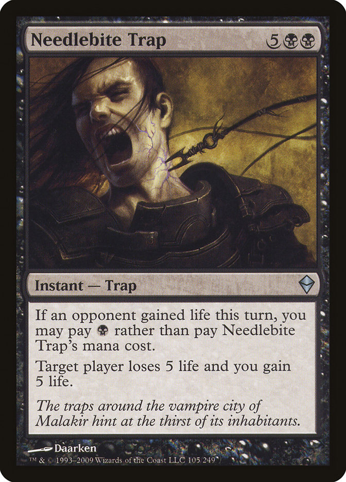 Needlebite Trap