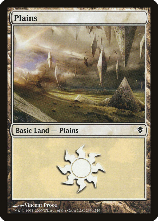 Plains (#233a) (Regular Art)
