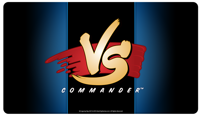 StarCityGames.com Playmat - Commander VS - Blue