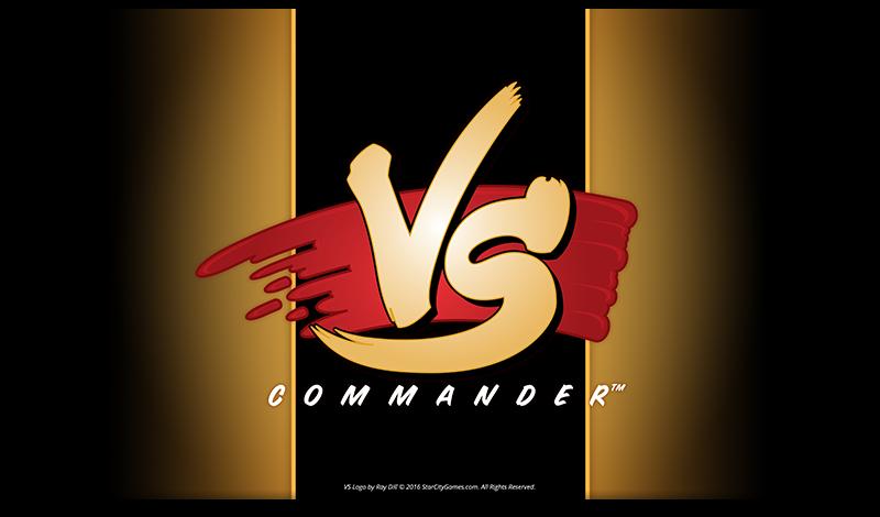 StarCityGames.com Playmat - Commander VS - Gold