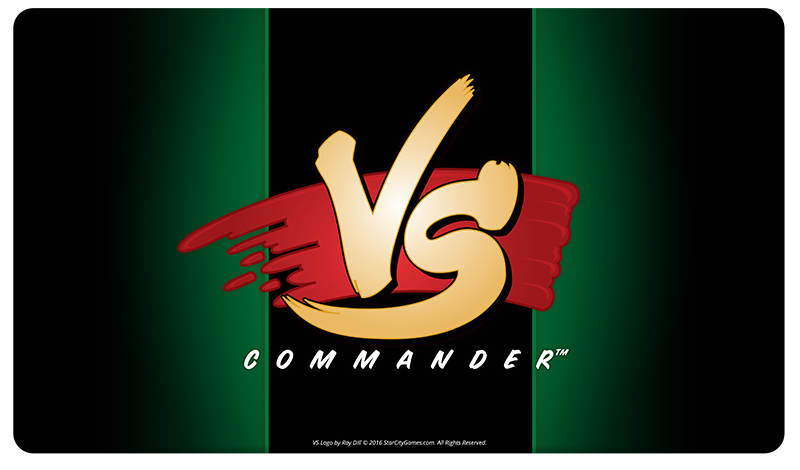 StarCityGames.com Playmat - Commander VS - Green