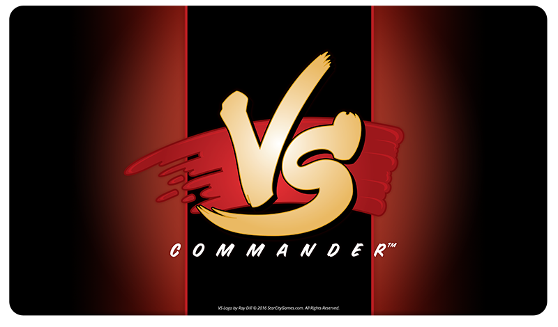 StarCityGames.com Playmat - Commander VS - Red