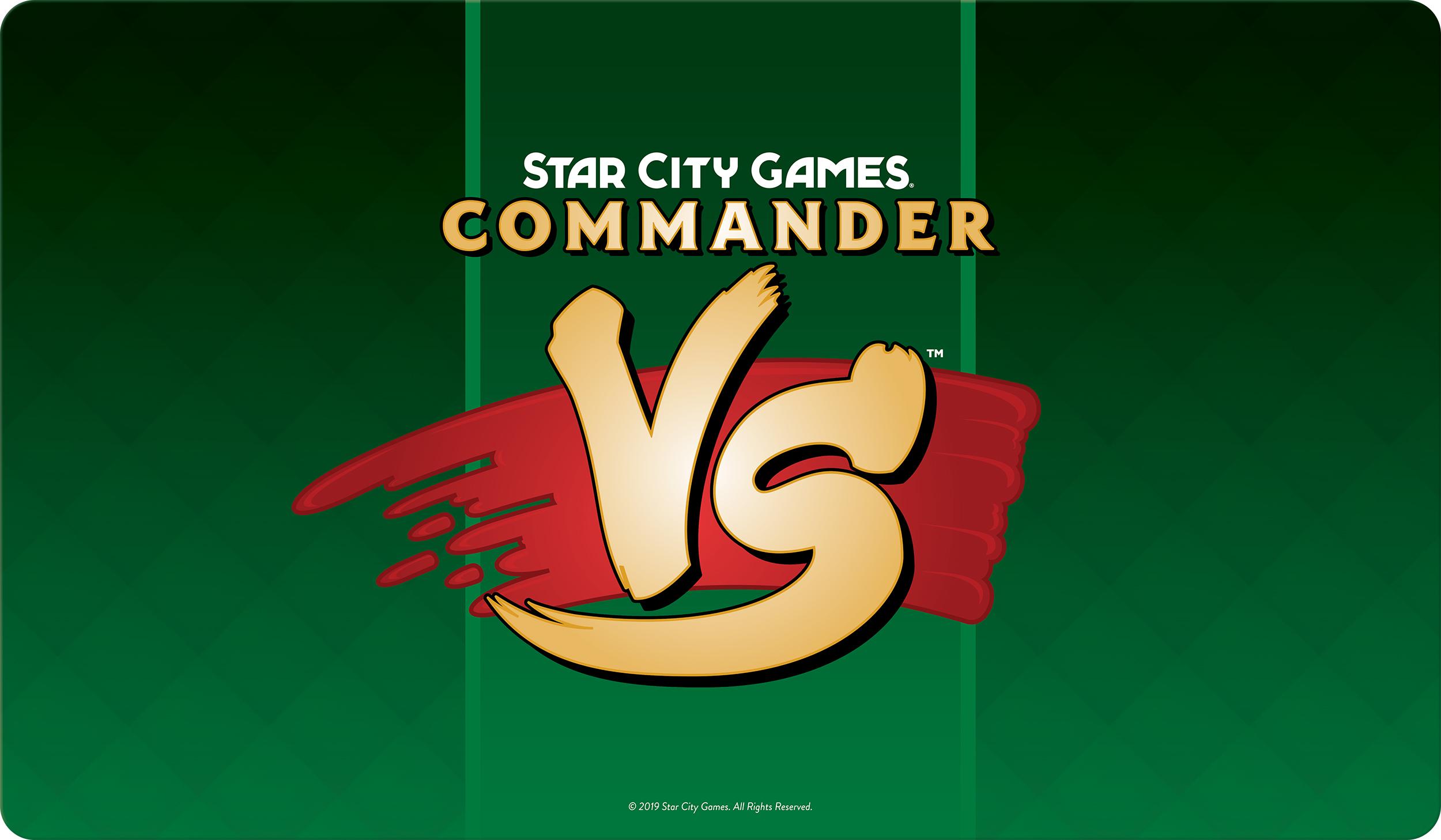 Star City Games Playmat Commander VS - Green
