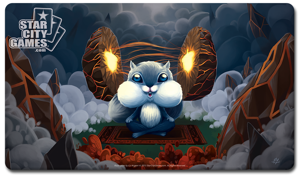 StarCityGames.com Playmat - Creature Collection - Acorn Mystic (Extended Artwork)