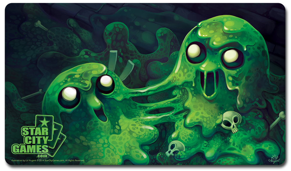 StarCityGames.com Playmat - Creature Collection - Ooze