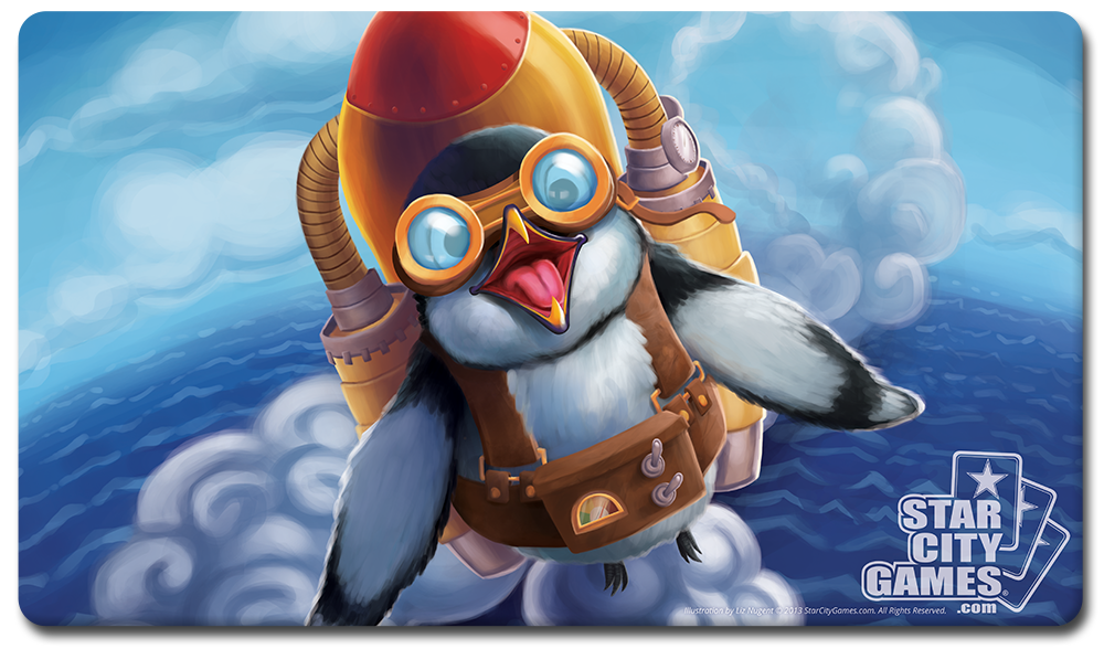 Starcitygames Com Playmat Creature Collection Penguin