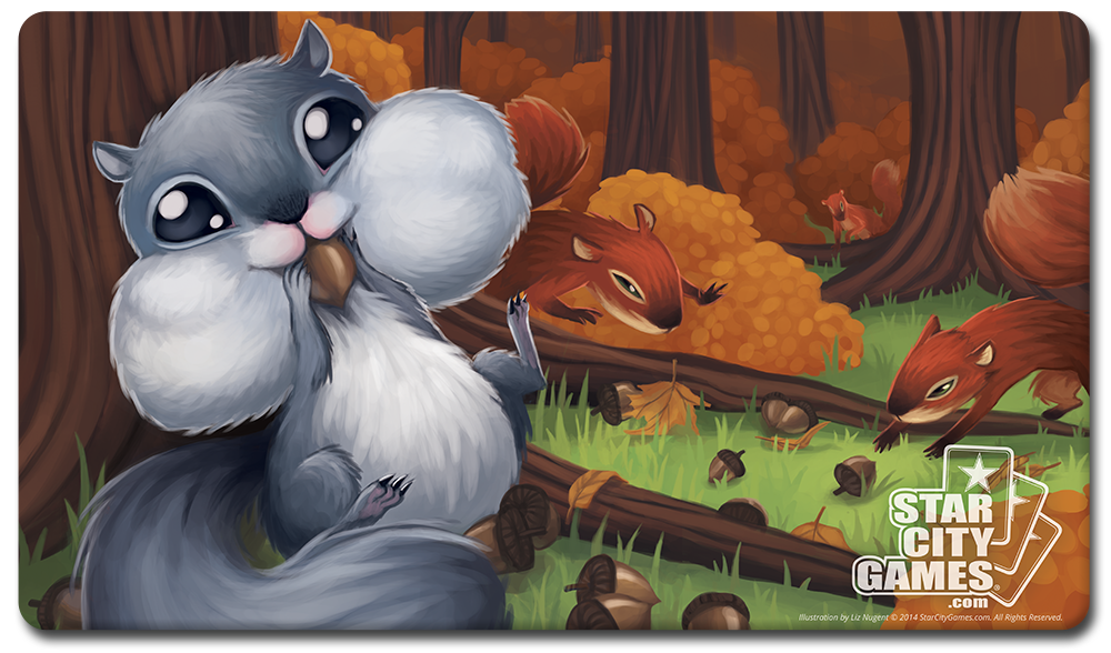 StarCityGames.com Playmat - Creature Collection - Squirrel
