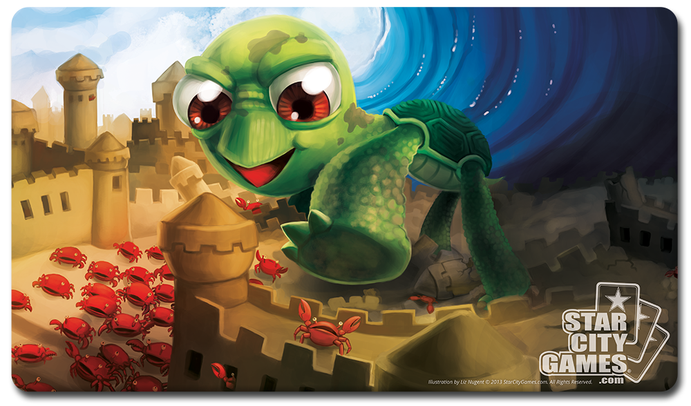 StarCityGames.com Playmat - Creature Collection - Turtle