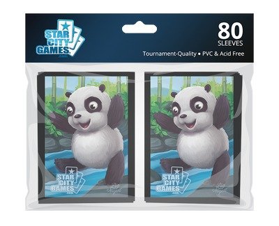 StarCityGames.com Sleeves - Creature Collection - Panda (80 ct.)