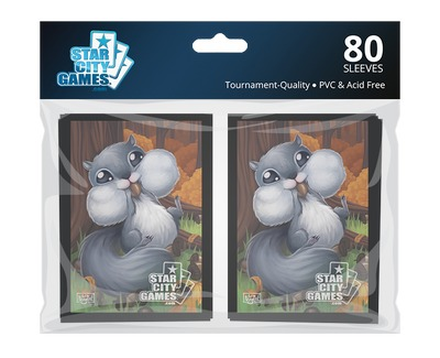 StarCityGames.com Sleeves - Creature Collection - Squirrel (80 ct.)