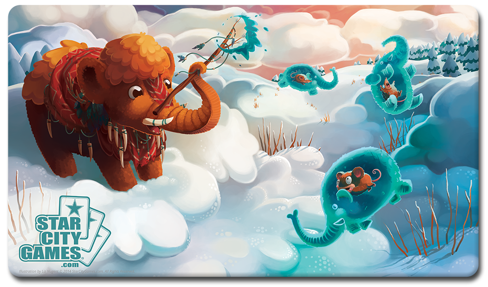 StarCityGames.com Playmat - Creature Collection - Mammoth