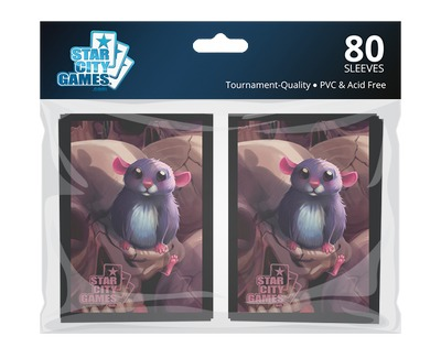 StarCityGames.com Sleeves - Creature Collection - Rat (80 ct.)