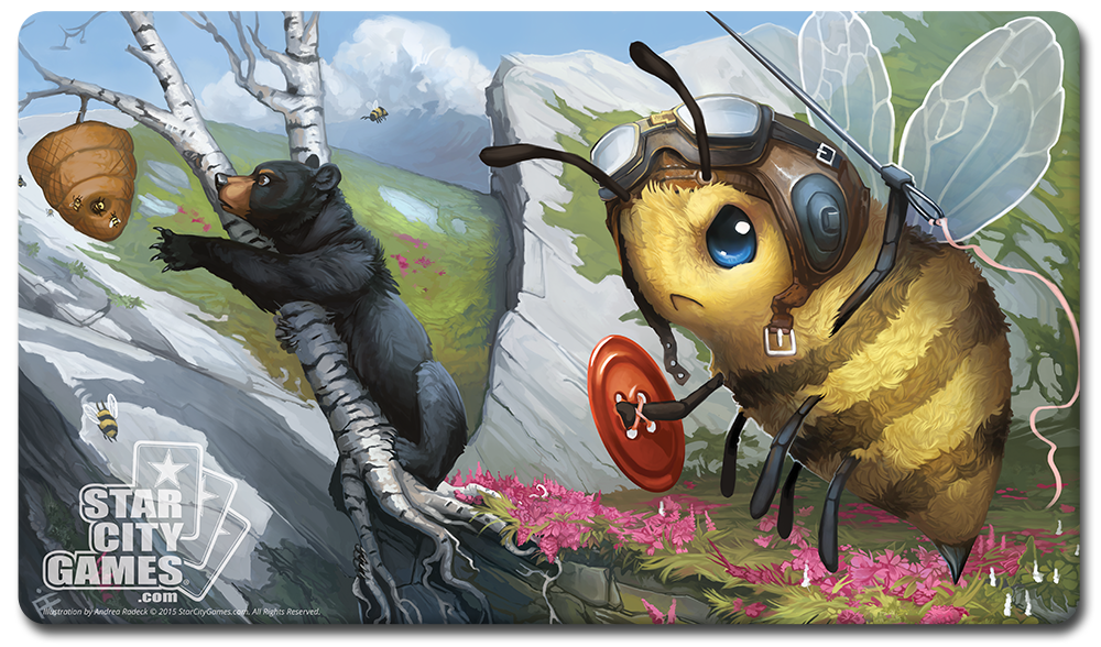 StarCityGames.com Playmat - Creature Collection - Bee