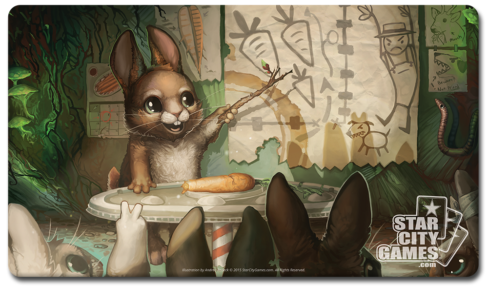 StarCityGames.com Playmat - Creature Collection - Bunny