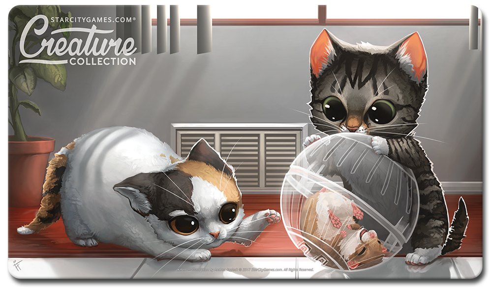 Starcitygames Com Playmat Creature Collection Kitten