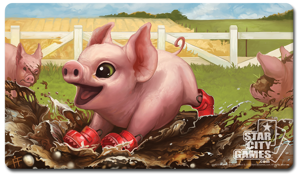StarCityGames.com Playmat - Creature Collection - Piglet