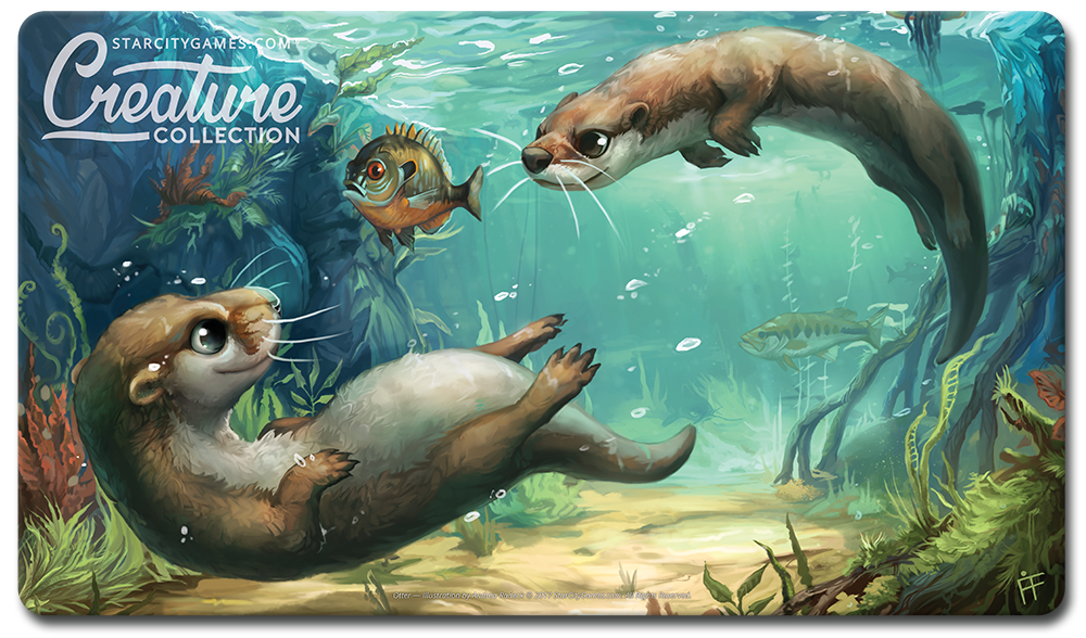 StarCityGames.com Playmat - Creature Collection - Otter