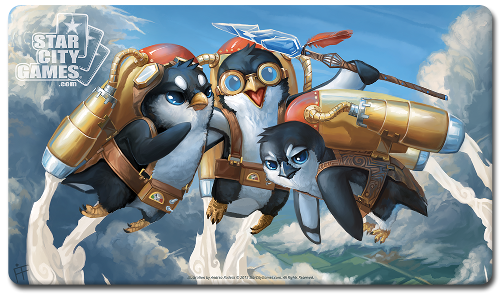 StarCityGames.com Playmat - Creature Collection - Penguilion Clique