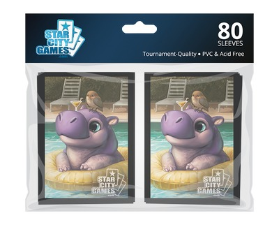StarCityGames.com Sleeves - Creature Collection - Hippo (80 ct.)