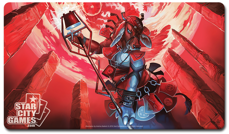 StarCityGames.com Playmat - Creature Collection - Magus of the Moo