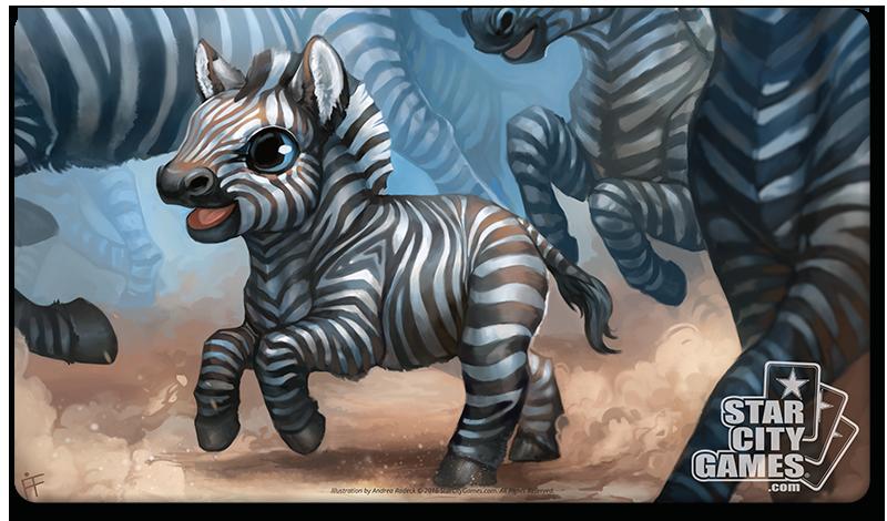 StarCityGames.com Playmat - Creature Collection - Zebra