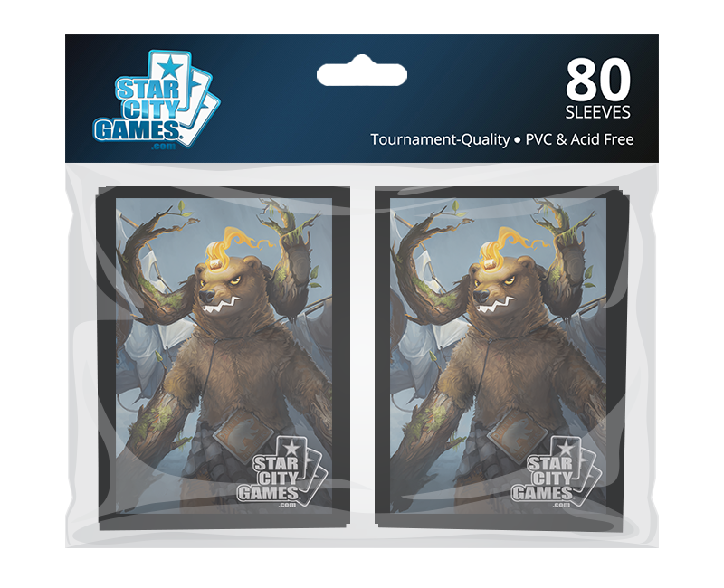 StarCityGames.com Sleeves - Creature Collection - Grizzlybrand (80 ct.)