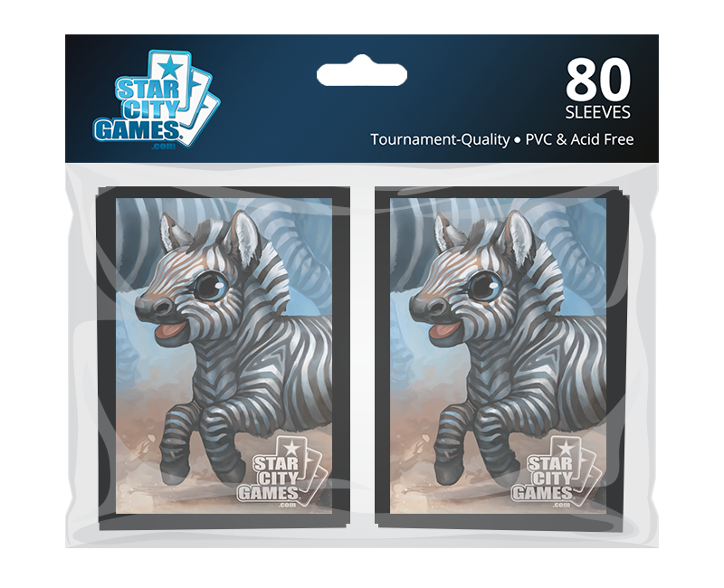 StarCityGames.com Sleeves - Creature Collection - Zebra (80 ct.)