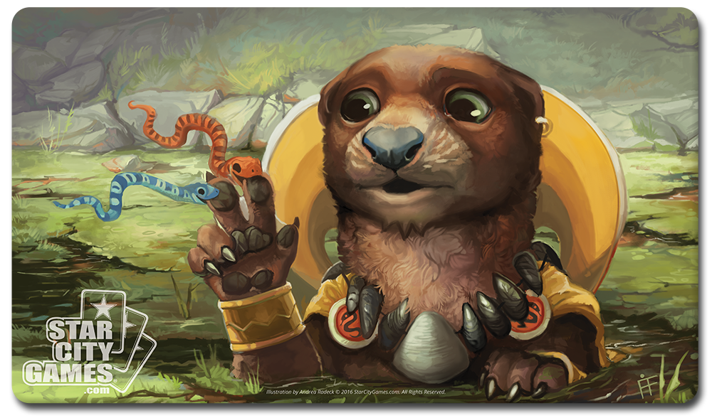 StarCityGames.com Playmat - Creature Collection - Otterspell
