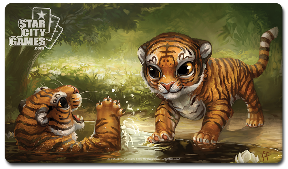 StarCityGames.com Playmat - Creature Collection - Tiger