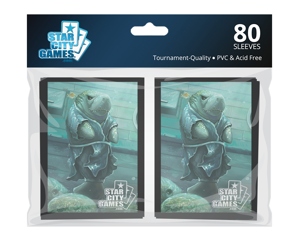 StarCityGames.com Sleeves - Creature Collection - Manateery Mentor (80 ct.)
