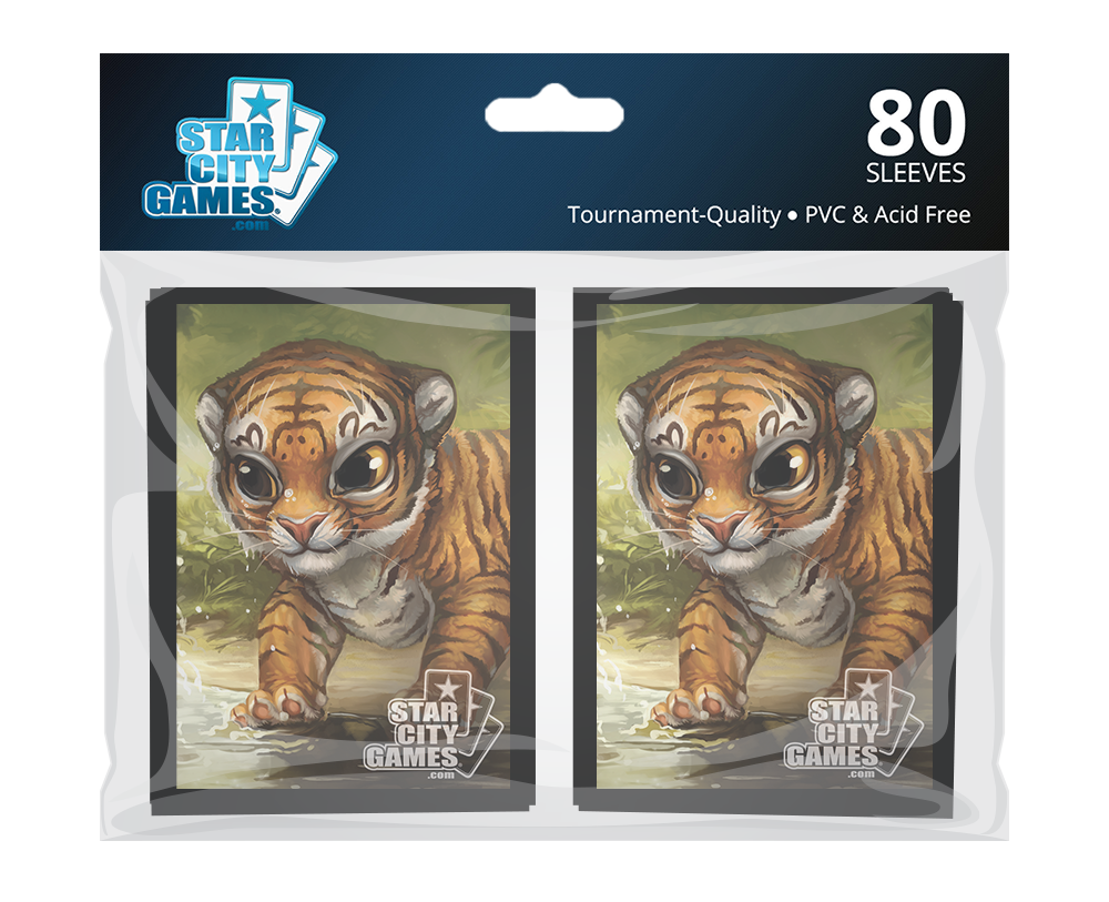 StarCityGames.com Sleeves - Creature Collection - Tiger (80 ct.)