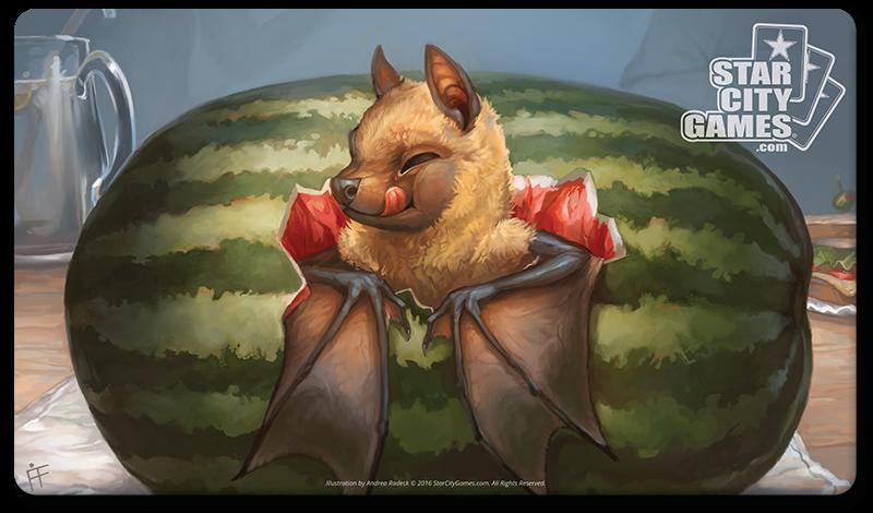 StarCityGames.com Playmat - Creature Collection - Fruit Bat