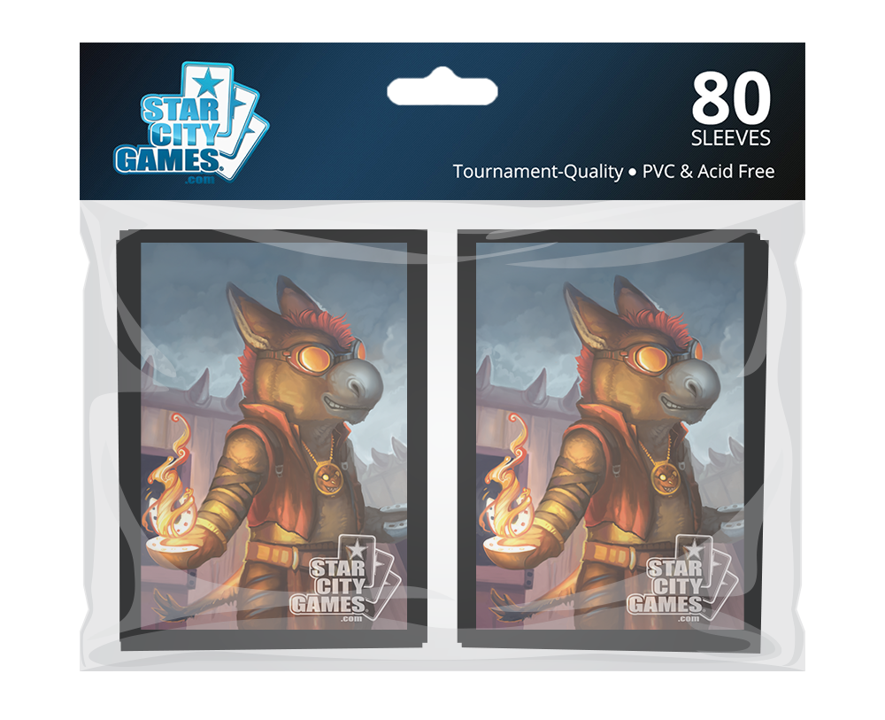 StarCityGames.com Sleeves - Creature Collection - Young Burromancer (80 ct.)