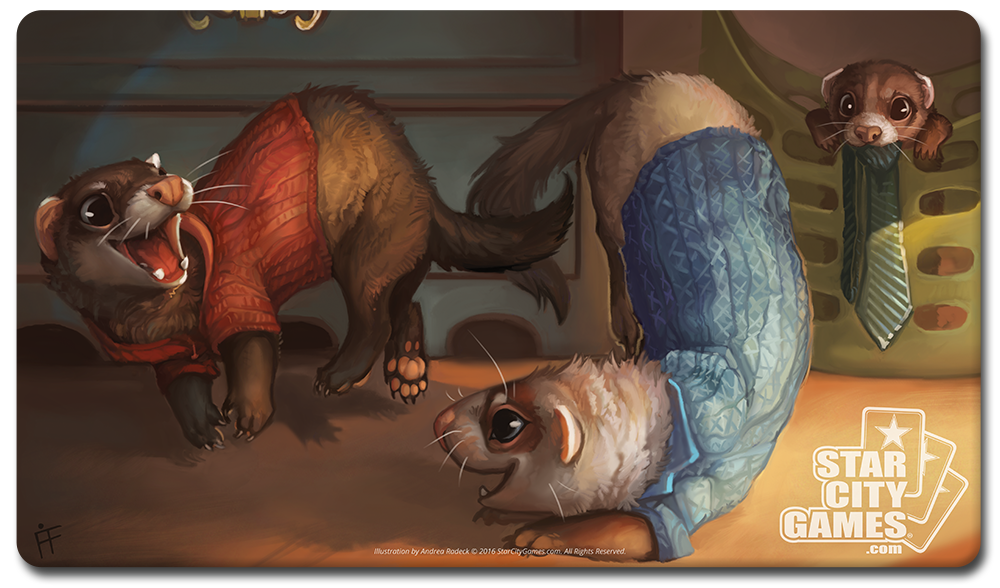 StarCityGames.com Playmat - Creature Collection - Ferret