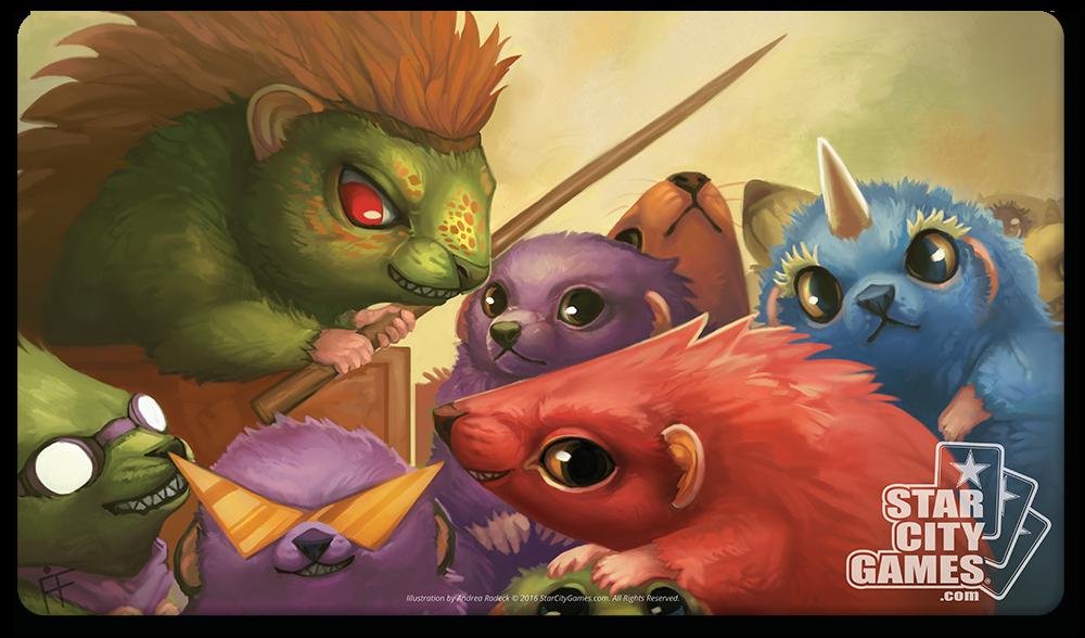 StarCityGames.com Playmat - Creature Collection - Hedgehogahog