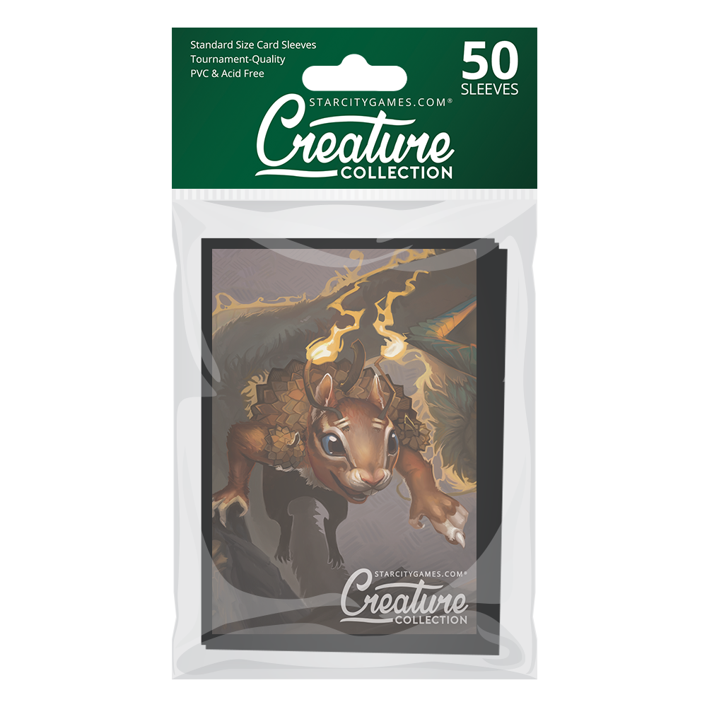 StarCityGames.com Matte Sleeves - Creature Collection - Squiki-Chiki, Acorn Breaker (50 ct.)