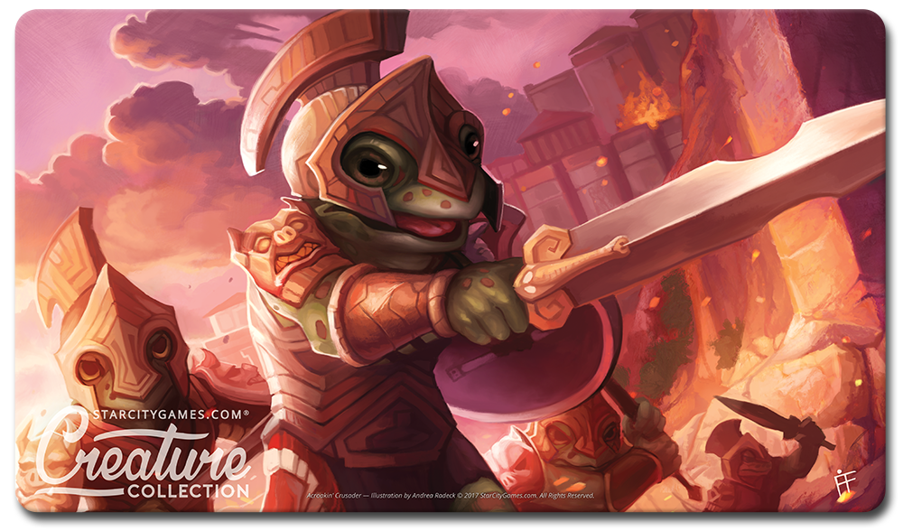 StarCityGames.com Playmat - Creature Collection - Acroakin